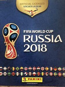 PANINI FIFA WORLD CUP 2018 ALBUM Complete - RUSSIA