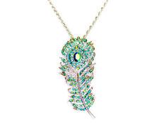 Emerald Rhinestone Costume Necklaces & Pendants