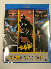 Ninja Trilogy BLU RAY Enter The Ninja Revenge of The Ninja Ninja III Domination