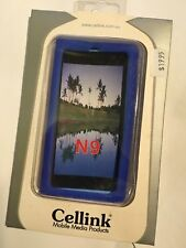 Nokia N9-00 Silicon Case in Blue SCC4516BL. Brand New in the Original packaging.
