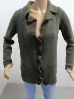 Cardigan BURBERRY Donna Taglia Size 42 Sweater Woman Pull Femme P 6470