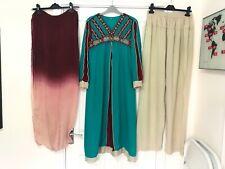 Ladies Indian shalwar kameez saree bollywood asian fancy dress costume 10-12 UK