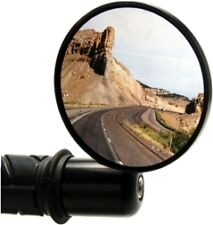Oberon 75mm Steetfighter Bar End Mirror for 1 inch bar - BLACK - NEW one mirror