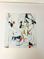 """1995 Signed #rd/Pencil HAROLD BAUMBACH """"Lolita Tendresse"""" Litho Abstract Nude"""