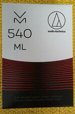 Audio Technica vm540ml mm-fonocaptor Microline esmerilado nuevo y en su embalaje original