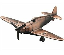 NEW BRASS COLOUR SPITFIRE PLANE DESKTOP ORNAMENTAL PENCIL SHARPENER. WESTAIR