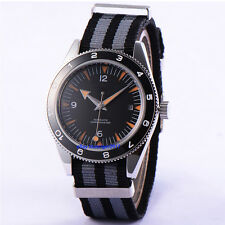 Sterile 41mm Japan Miyota MOV'T Sapphire Glass DEBERT Parnis Watchproof Watch