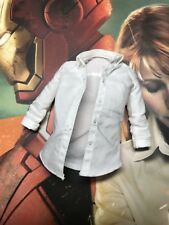 hot toys Iron Man 3 Pepper Potts & Mark 9 IX MMS311 1/6 pepper White shirt