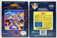 Mega Man 1 Original - Nintendo NES Custom Case - *NO GAME*