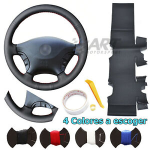 Cover Steering Wheel Custom For Mercedes Viano Vito W639 Leather Smooth +