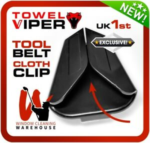 Towel VIPER Cloth Clip Amazing Tool Belt Clipper f/ Microfibre Cloths Scrims Etc