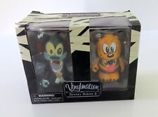 Nib Disney Vinylmation Goofy and Pluto Halloween Characters Collectible Toys New