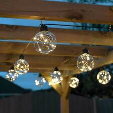 Battery Power LED Outdoor Firefly Festoon Lights | Garden Globe Party Indoor