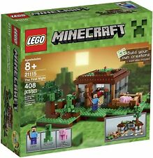 RETIRED LEGO MINECRAFT THE FIRST NIGHT 21115 NEW FACTORY SEALED 408 PCS CREEPER