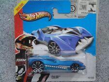 Hot Wheels 2013 # 112/250 Cul8r Hw Course Bleu