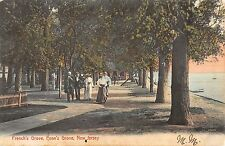 Penns Grove New Jersey Frenchs Grove Shore Line Antique Postcard K33292