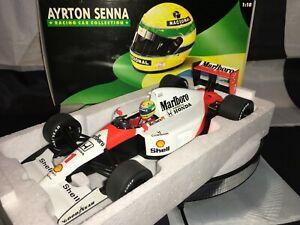 1:18 MINICHAMPS 540911801 Ayrton Senna Mclaren MP4/6 #1 1991 - Marlboro