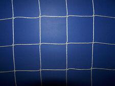 "5' x 10' White Square Mesh Nylon Soccer Netting 4"" #36 Twine Test 350 Lbs"