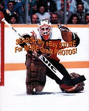 SUPERB #27 Ron HEXTALL on His KNEE for a SAVE Philadelphia FLYERS 8X10 NEW L@@K!