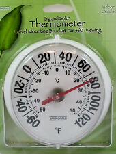 Outdoor Big Bold Thermometer Big Bold Numbers New