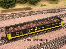 Hay Brothers SCRAP METAL LOAD - Fits Athearn / MDC Roundhouse 100T 52FT Gondolas