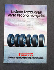G136-Advertising Pubblicità - 1982 - PIRELLI SERIE LARGA