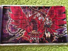 Yu-Gi-Oh! Black Rose Dragon Schwarzer Rosendrache Playmat Spielmatte 2011