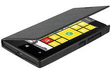 Pro-Tec Black Flip Cover for Microsoft Lumia 435 Slimline Folio Clip-On Case