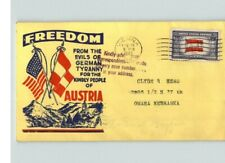 "AUSTRIA, Overrun Country in World War II, ""FREEDOM From Evils of Germany..."""
