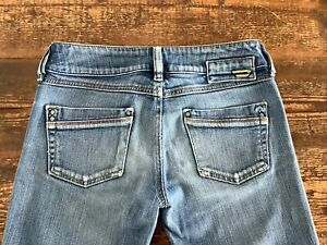 VINTAGE DIESEL JEANS RONHAR MADE IN ITALY LOW RISE BOOTCUT W26 L32