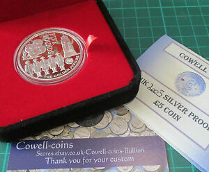 2003 SILVER PROOF GOLD PLATED JERSEY £5 COIN  QUEENS GOLDEN JUBILEE boxed/COA