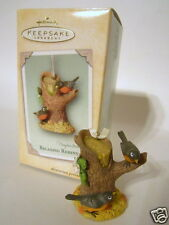 Hallmark Ornament 2004 Relaxing Robins Marjolein Bastin Nature's Sketchbook NEW