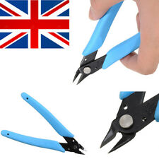 Blue Durable Electrical Side Snips Flush Pliers Wire Cable Cutter Cutting Tool