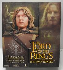 "Sideshow Lord of the Rings 1:6 Scale 12"" Action Figure Toy Doll NIB FARAMIR NIP"