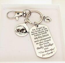 Loss of a baby gift Keyring still born still birth memorial gift miscarriage