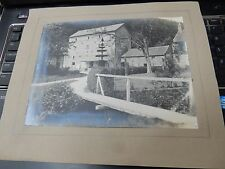 Thornton le Dale  ?old mill 1930s ? pos 40s  LARGE PHOTO MOUNTED 200 X 150 mm