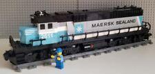 Lego Train Custom Maersk SD60 ---PLEASE READ ITEM DESCRIPTION---