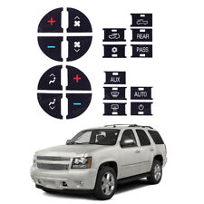 Decal Stickers AC Heater Control Button Repair Replacement For 07-14 GM Vehicle