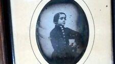 Daguerréotype - Portrait d'un jeune garçon - non identifié