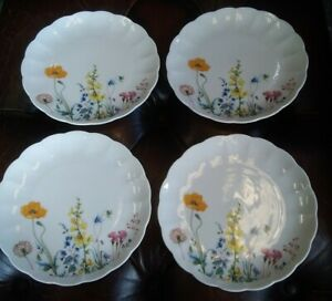 Vintage Seltmann Weiden Side Plates 'Jasmine' x4.