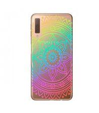 Case Galaxy A7 2018 Mandala Arc IN Sky Multicolor