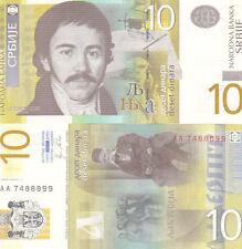 10 SERBIAN DINARA BANKNOTE P-NEW 2011 SERBIA UNCIRCULATED