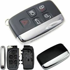 Replace Smart Remote Key Shell Cover Fob 5 Button For 2010-2013 JAGUAR XJ XJL XF