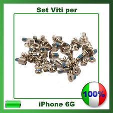 """Set VITI Completo per Apple iPhone 6 4,7"""" Kit Riparazione Ricambio"""