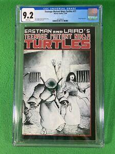 Teenage Mutant Ninja Turtles TMNT 17 - Mirage - CGC 9.2 White - 1988