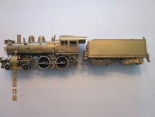 RARE BRASS Olympia GN-117 PRR 4-4-0 Steam loco-box, foam, lights work, runs good