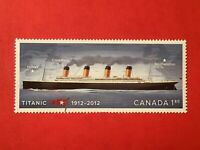 "Canadian Stamp #2535i... ""Titanic, Perforated Single from Sheet""(mint condition)"