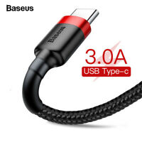 Baseus USB Type C For Xiaomi Redmi Note 7/7 Pro QC3.0 Fast Charging Data Cable