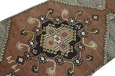 Turkish Runner Rug, 2.4x11.1 ft, Handmade Runner Rug, Turkish rug, Runner rug
