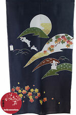 NOREN JAPANESE KYOTO TRADITIONAL PATTERN JAPONAIS JAPANSKE GARDIN MADE IN JAPAN
